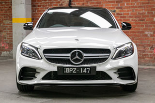 2021 Mercedes-Benz C-Class W205 801MY C43 AMG 9G-Tronic 4MATIC Polar White 9 Speed Sports Automatic.
