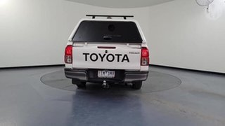 2016 Toyota Hilux GGN120R SR White 6 Speed Automatic Dual Cab Utility