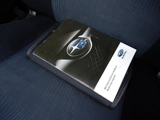 2009 Subaru Impreza G3 MY10 RX AWD Dark Grey 4 Speed Sports Automatic Sedan