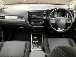 2017 Mitsubishi Outlander ZL MY18.5 ES AWD Red 6 Speed Constant Variable Wagon