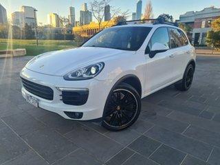 2016 Porsche Cayenne 92A MY17 Diesel Tiptronic White 8 Speed Sports Automatic Wagon.