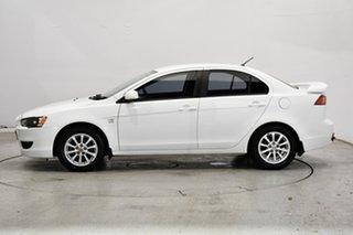 2011 Mitsubishi Lancer CJ MY11 SX Sportback White Solid 5 Speed Manual Hatchback.