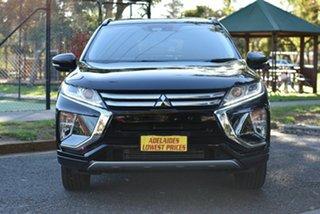 2018 Mitsubishi Eclipse Cross YA MY18 LS 2WD Black 8 Speed Constant Variable Wagon.