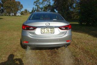 2017 Mazda 6 GL1031 Sport SKYACTIV-Drive Silver 6 Speed Sports Automatic Sedan.