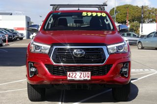 2020 Toyota Hilux GUN126R SR5 Double Cab Olympia Red 6 Speed Sports Automatic Utility