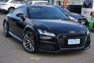 2015 Audi TT FV MY15 S Line S Tronic Quattro Black 6 Speed Sports Automatic Dual Clutch Coupe.
