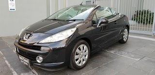 2007 Peugeot 207 CC 1.6 Black 4 Speed Automatic Cabriolet.