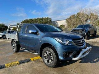 2020 Mazda BT-50 UR0YG1 XTR Freestyle Blue 6 Speed Sports Automatic Utility.