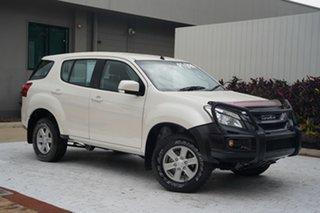 2017 Isuzu MU-X MY16.5 LS-M Rev-Tronic White 6 Speed Sports Automatic Wagon.
