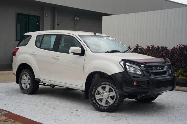 Used Isuzu MU-X MY16.5 LS-M Rev-Tronic Cairns, 2017 Isuzu MU-X MY16.5 LS-M Rev-Tronic White 6 Speed Sports Automatic Wagon