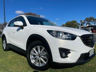 2016 Mazda CX-5 KE1032 Maxx SKYACTIV-Drive AWD Sport Crystal White Pearl 6 Speed Sports Automatic.