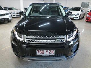2018 Land Rover Range Rover Evoque L538 MY19 SE Black 9 Speed Sports Automatic Wagon.