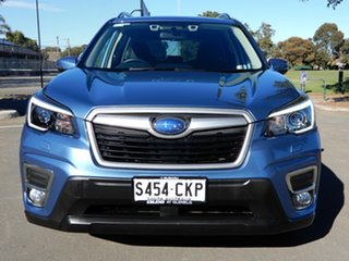 2020 Subaru Forester S5 MY21 2.5i CVT AWD Blue 7 Speed Constant Variable Wagon.