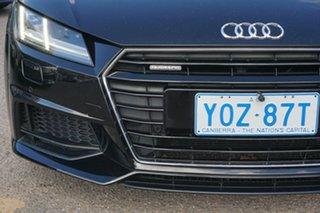 2015 Audi TT FV MY15 S Line S Tronic Quattro Black 6 Speed Sports Automatic Dual Clutch Coupe
