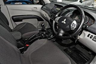 2010 Mitsubishi Triton MN MY11 GL-R Double Cab 4x2 Activ Grey 5 Speed Manual Utility