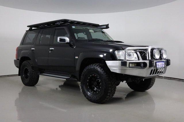 Used Nissan Patrol GU VII ST (4x4) Bentley, 2011 Nissan Patrol GU VII ST (4x4) Black 5 Speed Manual Wagon