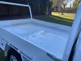 2015 Holden Colorado RG MY15 DX (4x4) White 6 Speed Manual Cab Chassis