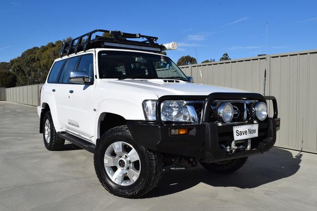 Used Nissan Patrol GU 6 MY08 ST Echuca, 2008 Nissan Patrol GU 6 MY08 ST White 5 Speed Manual Wagon