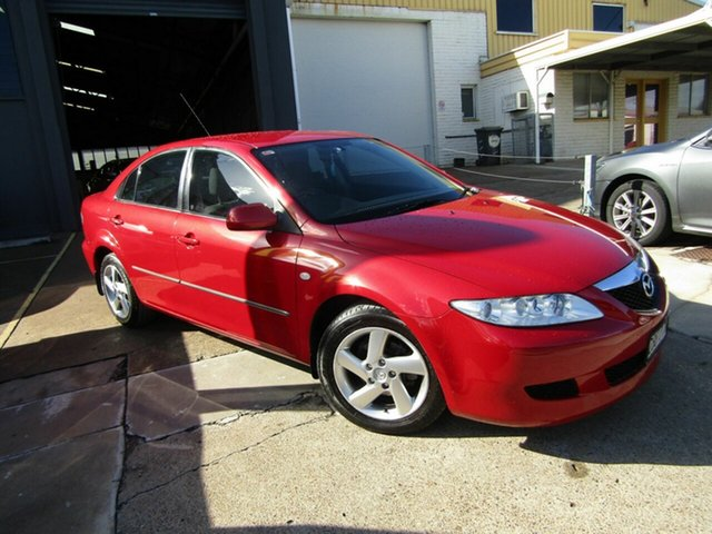 Used Mazda 6 GG1031 MY04 Classic Moorooka, 2005 Mazda 6 GG1031 MY04 Classic Red 5 Speed Manual Hatchback