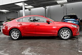 2015 Mazda 6 GJ1032 Sport SKYACTIV-Drive Red 6 Speed Sports Automatic Sedan.