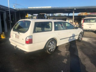 2003 Ford Falcon White Automatic Wagon