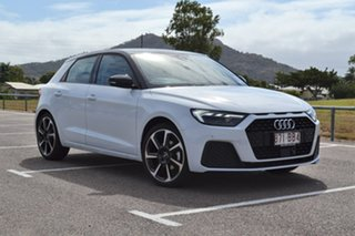 2020 Audi A1 GB MY20 35 TFSI Sportback S Tronic White 7 Speed Sports Automatic Dual Clutch Hatchback.