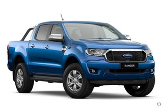 2021 Ford Ranger PX MkIII 2021.25MY XLT Blue 10 Speed Sports Automatic Double Cab Pick Up