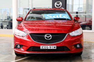 2014 Mazda 6 GJ1031 Touring SKYACTIV-Drive Red 6 Speed Sports Automatic Wagon