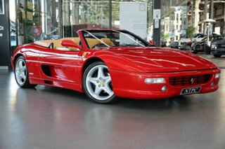 1996 Ferrari F355 Spider Red 6 Speed Manual Convertible.