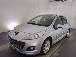 2011 Peugeot 207 A7 Series II MY10 Sportium Grey 4 Speed Sports Automatic Hatchback.