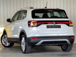 2021 Volkswagen T-Cross C1 MY21 85TSI DSG FWD Style White 7 Speed Sports Automatic Dual Clutch Wagon.