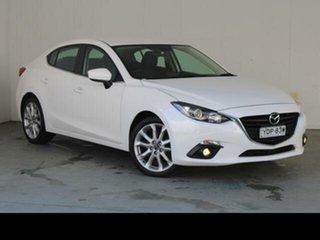 2015 Mazda 3 BM SP25 White 6 Speed Manual Sedan