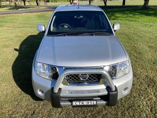 2014 Nissan Navara D40 MY12 ST (4x4) Silver 5 Speed Automatic Dual Cab Pick-up