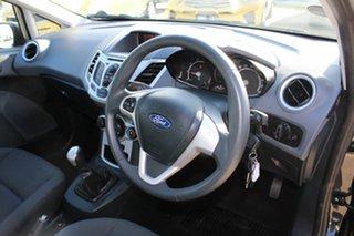 2012 Ford Fiesta WT CL Black 5 Speed Manual Hatchback