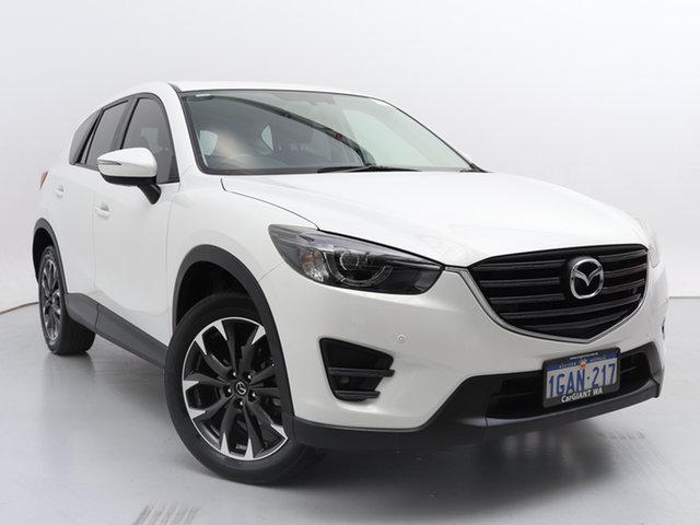 Used Mazda CX-5 MY15 GT (4x4), 2016 Mazda CX-5 MY15 GT (4x4) White 6 Speed Automatic Wagon