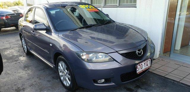 Used Mazda 3 BK10F2 MZR-CD Kippa-Ring, 2007 Mazda 3 BK10F2 MZR-CD Grey 6 Speed Manual Sedan
