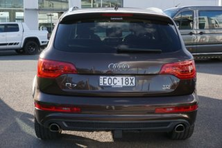 2014 Audi Q7 4L MY15 TDI Tiptronic Quattro Brown 8 Speed Sports Automatic Wagon
