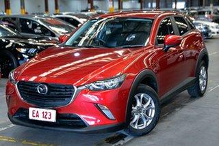 2017 Mazda CX-3 DK2W76 Maxx SKYACTIV-MT Red 6 Speed Manual Wagon.