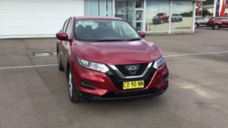 2017 Nissan Qashqai J11 Series 2 ST X-tronic Red 1 Speed Constant Variable Wagon