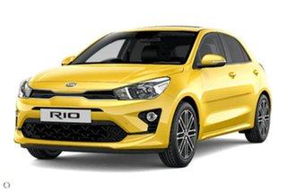 2021 Kia Rio YB MY21 SX Yellow 6 Speed Automatic Hatchback