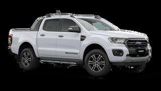 2021 Ford Ranger PX MkIII Wildtrak Arctic White 6 Speed Automatic Utility.
