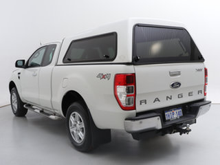 2015 Ford Ranger PX XLT 3.2 (4x4) White 6 Speed Automatic Super Cab Utility