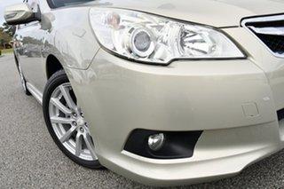 2010 Subaru Liberty B5 MY10 2.5i Lineartronic AWD Sunlight Gold Opal 6 Speed Constant Variable Sedan.
