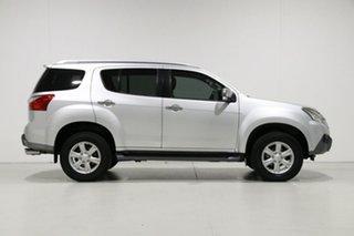 2016 Isuzu MU-X UC MY15.5 LS-T (4x4) Silver 5 Speed Automatic Wagon
