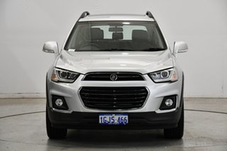 2017 Holden Captiva CG MY18 Active 2WD Silver 6 Speed Sports Automatic Wagon.
