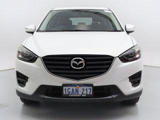 2016 Mazda CX-5 MY15 GT (4x4) White 6 Speed Automatic Wagon.