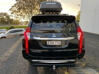 2019 Mitsubishi Pajero Sport QE MY19 Black Edition Black 8 Speed Sports Automatic Wagon