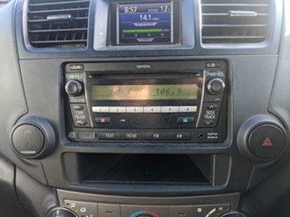 2010 Toyota Kluger GSU40R KX-R 2WD Silver 5 Speed Sports Automatic Wagon