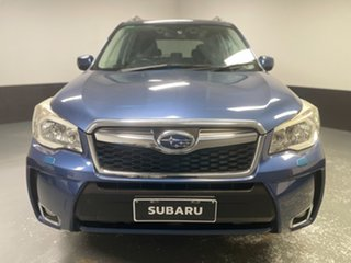 2012 Subaru Forester S4 MY13 XT Lineartronic AWD Premium Blue 8 Speed Constant Variable Wagon.