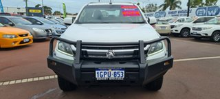 2018 Holden Colorado RG MY18 LS Crew Cab White 6 Speed Sports Automatic Cab Chassis.